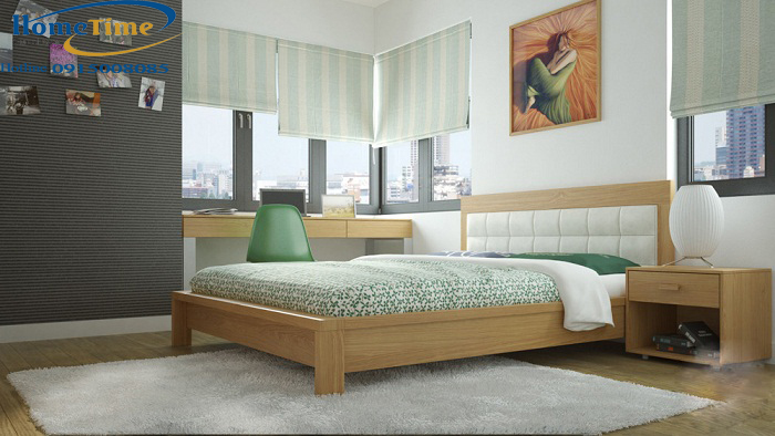 Mẫu nội thất phòng ngủ phủ laminate hiện đại