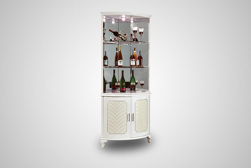 Tủ rượu góc nhập khẩu 33621TG