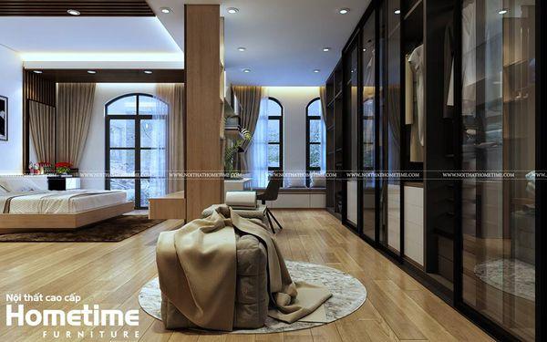 Thiết kế nội thất phòng ngủ biệt thự Vinhomes Imperia Hải Phòng 001
