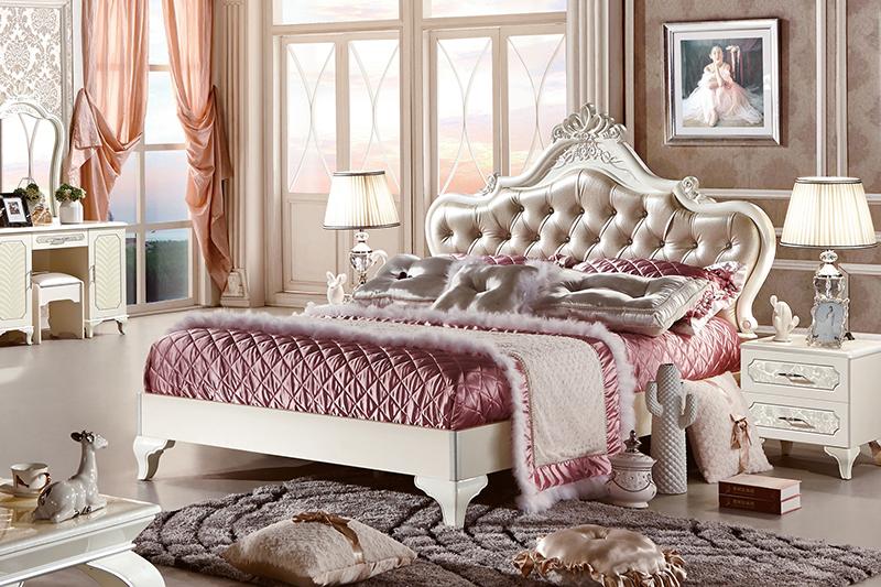 giường ngủ gỗ công nghiệp cao cấp 83663A