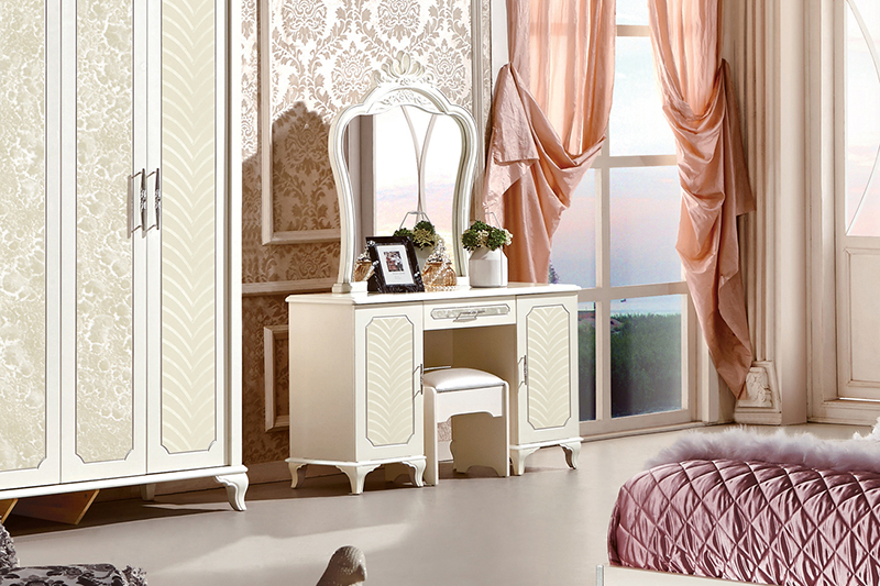 Bộ bàn ghế trang điể 83663C