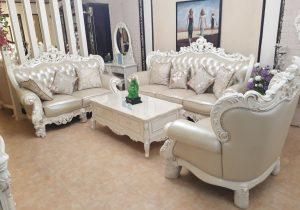 Sofa da tân cổ điển Hải Phòng