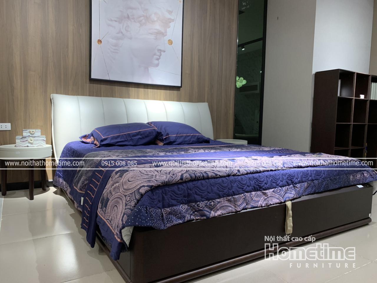 Giường ngủ đẹp nhập khẩu cao cấp tại Hải Phòng - GNK801