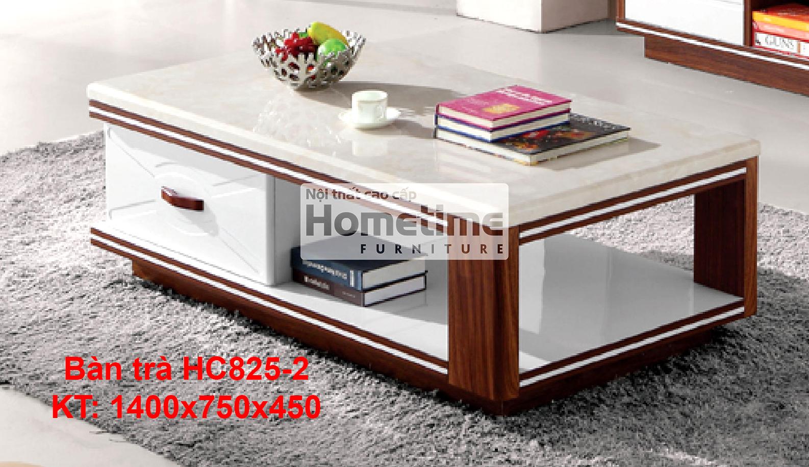Bàn trà cao cấp HC825 phong cách hiện đại