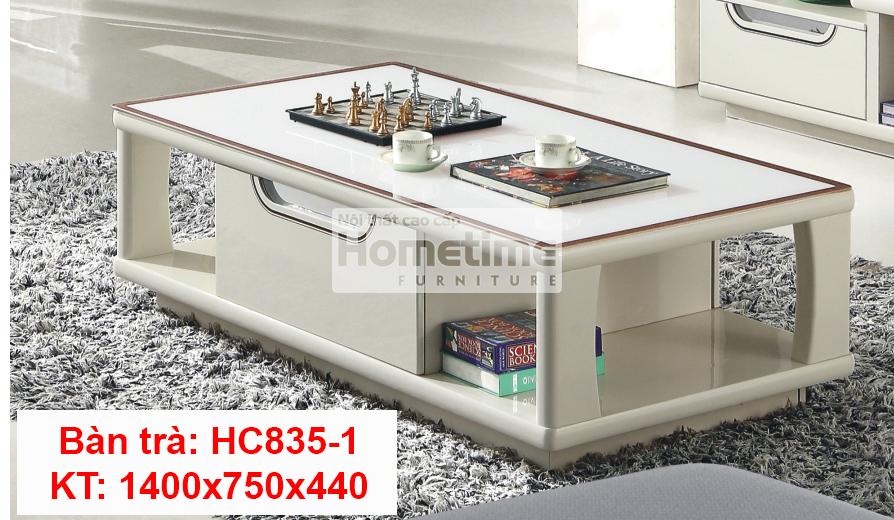 Bàn trà mặt kính HC8351