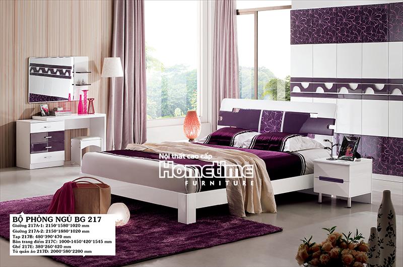 Bộ phòng ngủ hiện đại Hải Phòng - Bộ phòng ngủ đẹp GNK217
