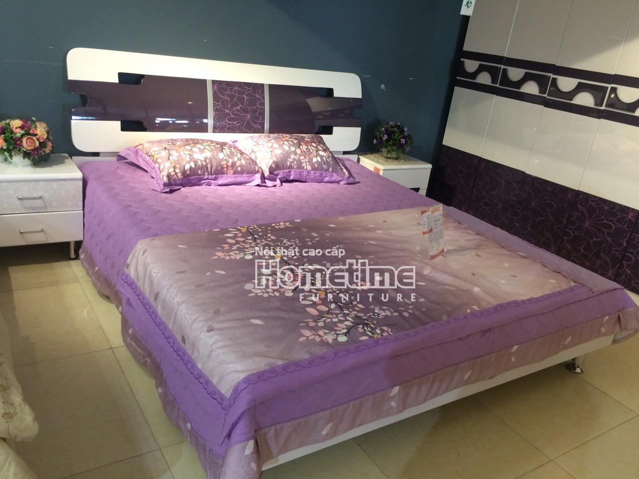 Giường ngủ đẹp hiện đại Hải Phòng - Bộ phòng ngủ đẹp GNK217A