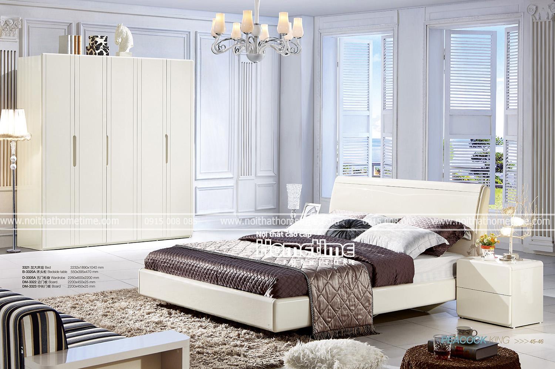 Giường ngủ đẹp Hải Phòng Giường ngủ Hiện đại G3321