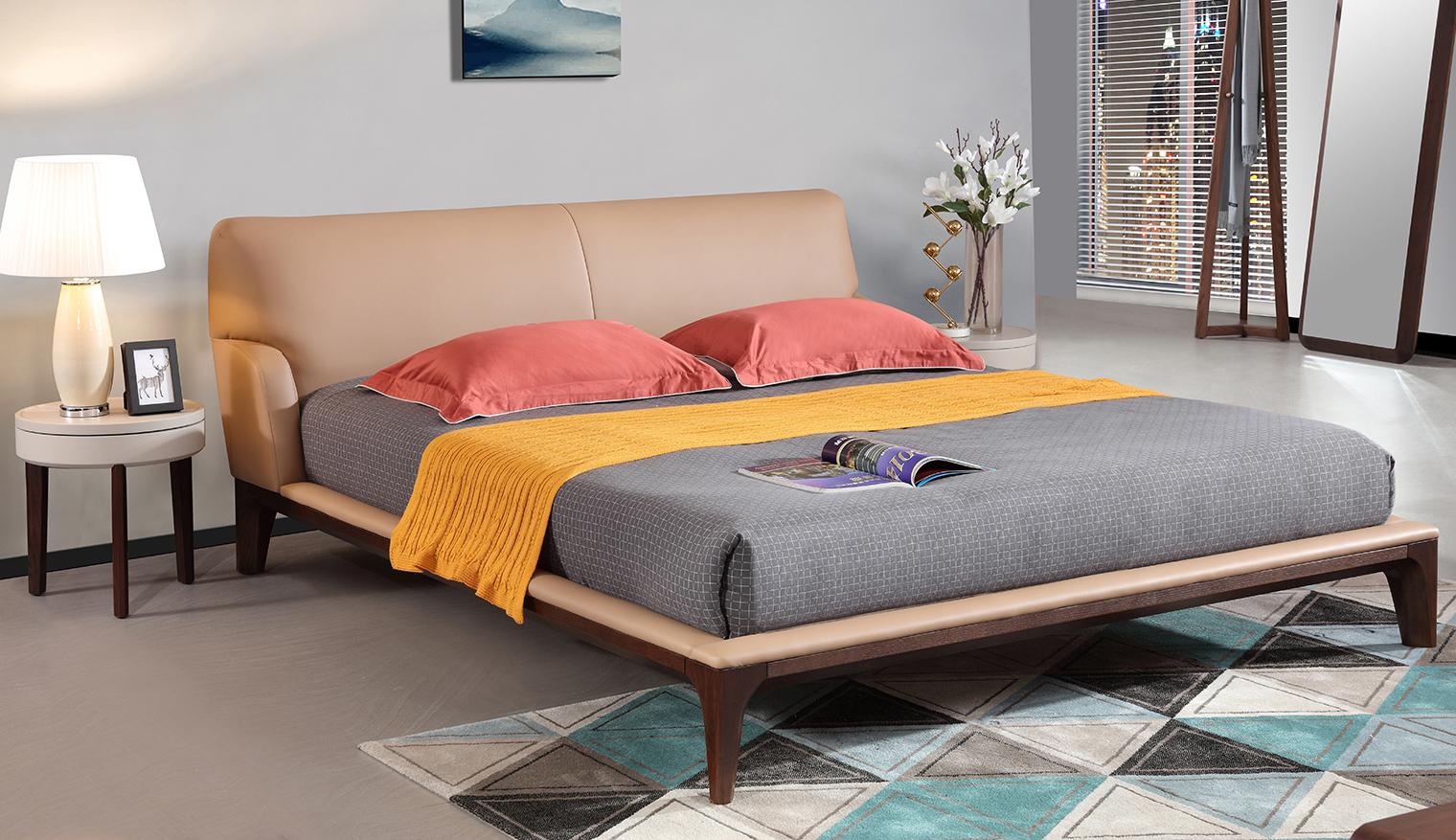 Giường ngủ đẹp hiện đại sang trọng - Nội thất Hải Phòng GNK1803