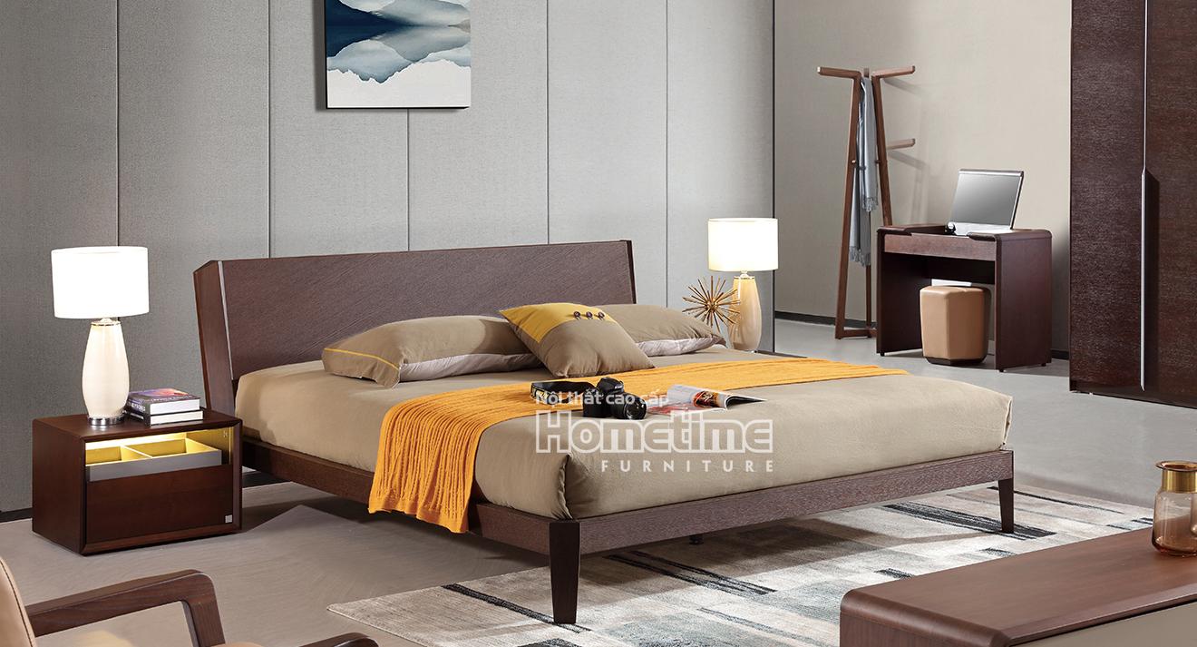 Giường ngủ hiện đại sang trọng - Nội thất Hải Phòng GNK1806