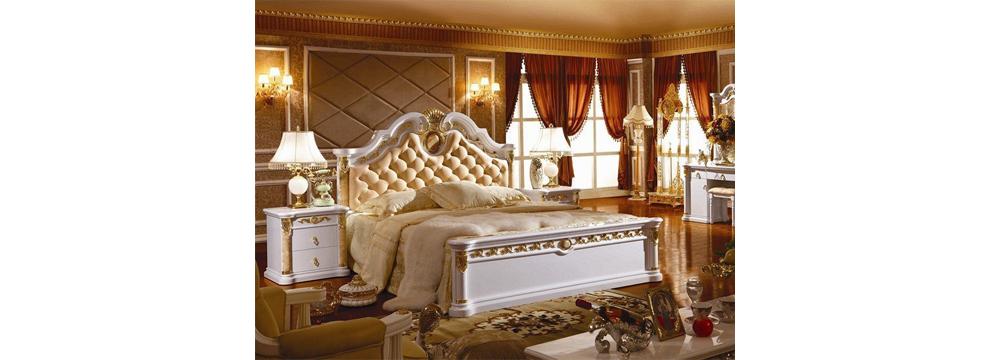 giường ngủ tân cổ điển Hải Phòng 3028