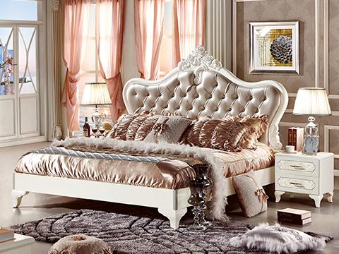Giường ngủ gỗ công nghiệp cao cấp 63662A