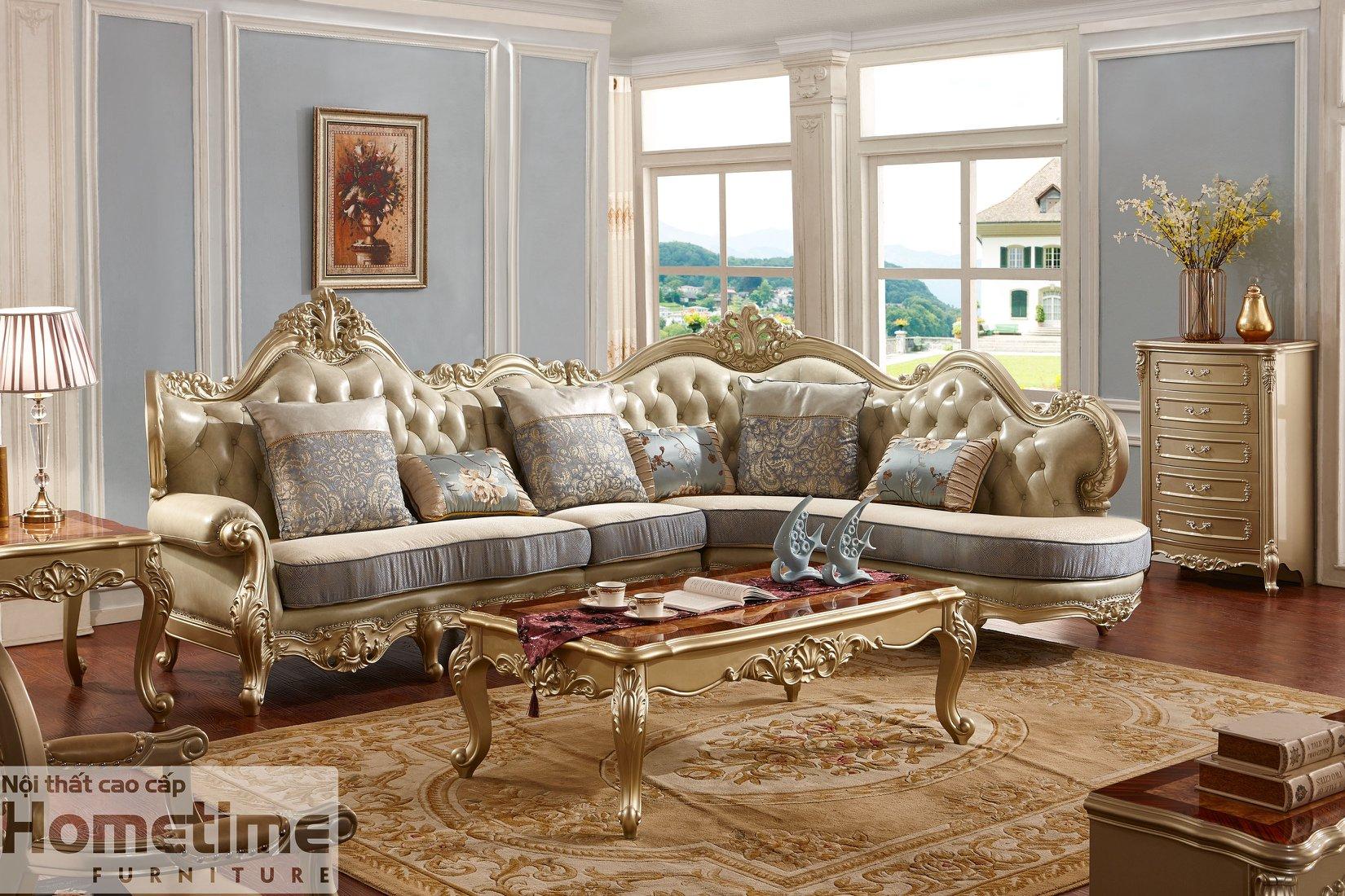 Sofa tân cổ điển Hải Phòng mã 959