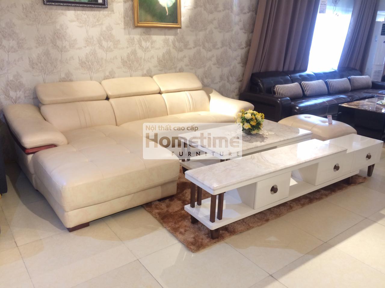Sofa phòng khách hiện đại Hải Phòng 2 băng