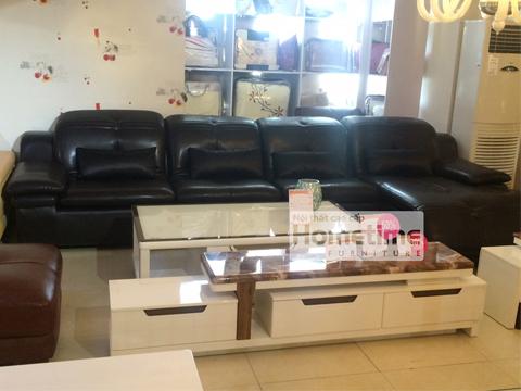sofa phòng khách tại Hải Phòng màu đen