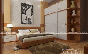 thiết kế và thi công nội thất nhà chị Ninh