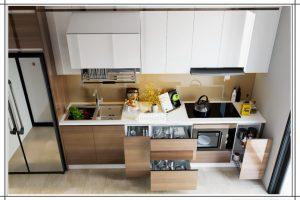 10 mẫu tủ bếp nhỏ xinh