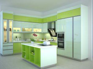 Thiết kế nội thất phòng bếp và những lưu ý khi thiết kế