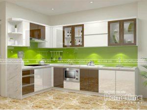 tủ bếp nhựa acrylic Quảng Ninh