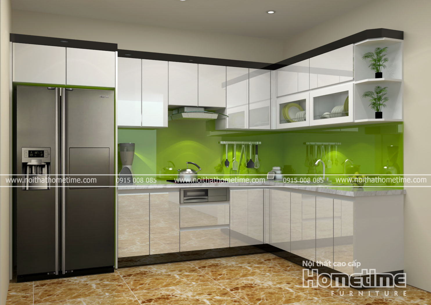 Tủ bếp nhựa picomat Hải Phòng