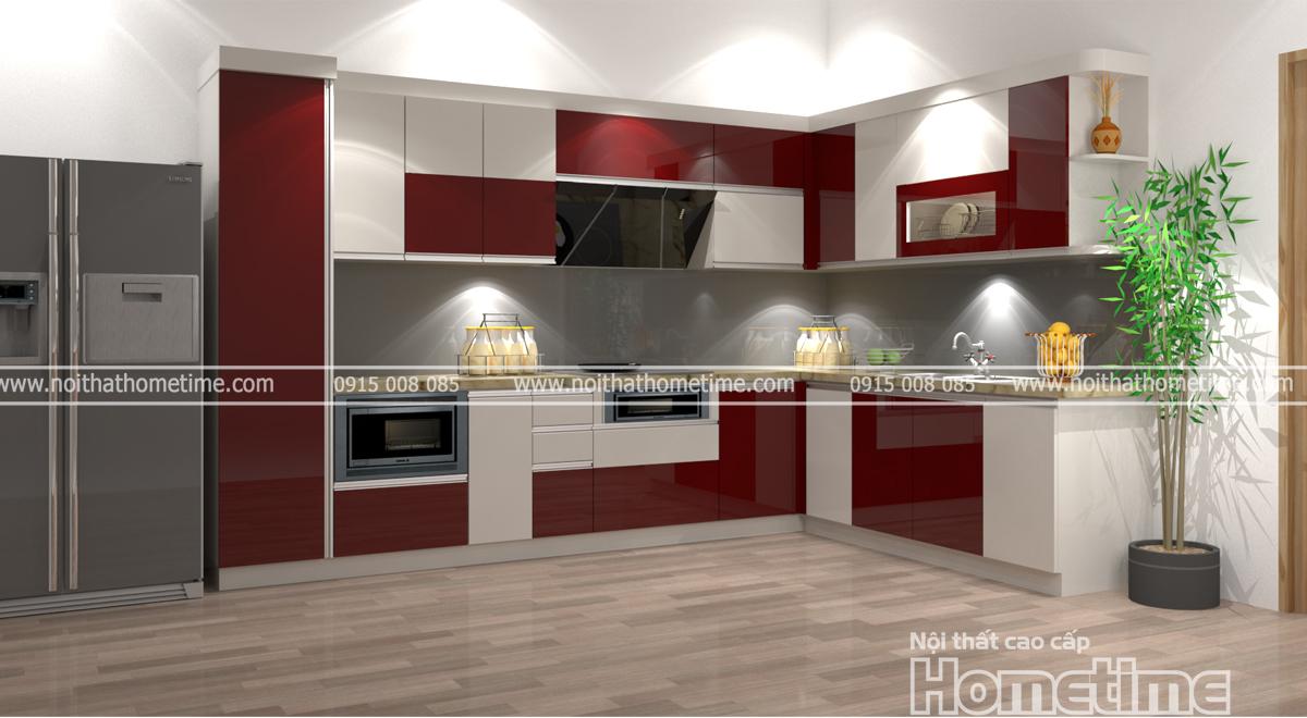 Thiết kế và thi công tủ bếp chuyên nghiệp tại Hải Phòng