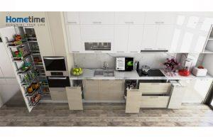 tủ bếp nhựa acrylic Hải Phòng đẹp sang trọng