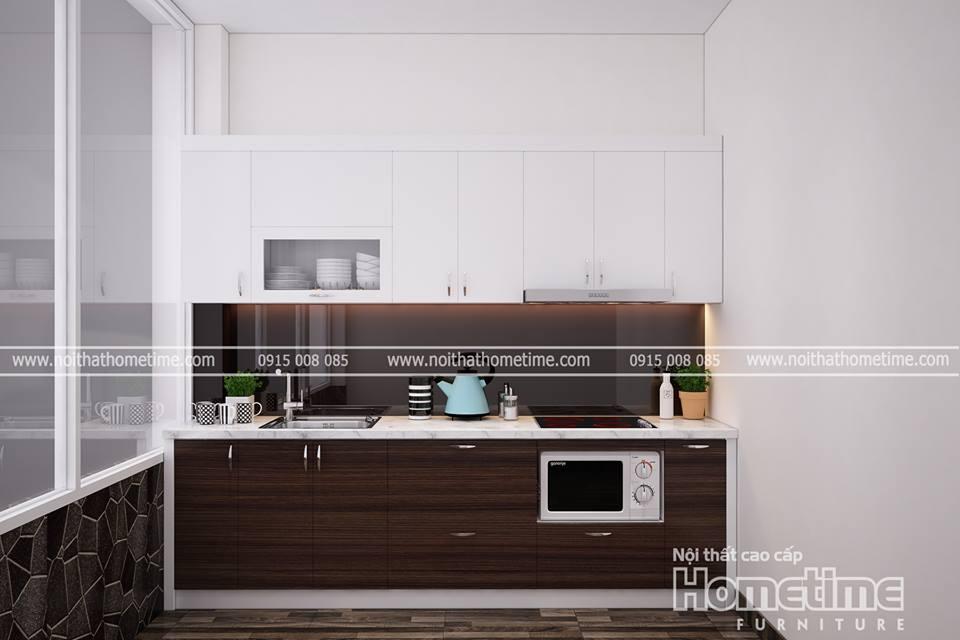 Tủ bếp nhựa cao cấp Hải Phòng 006