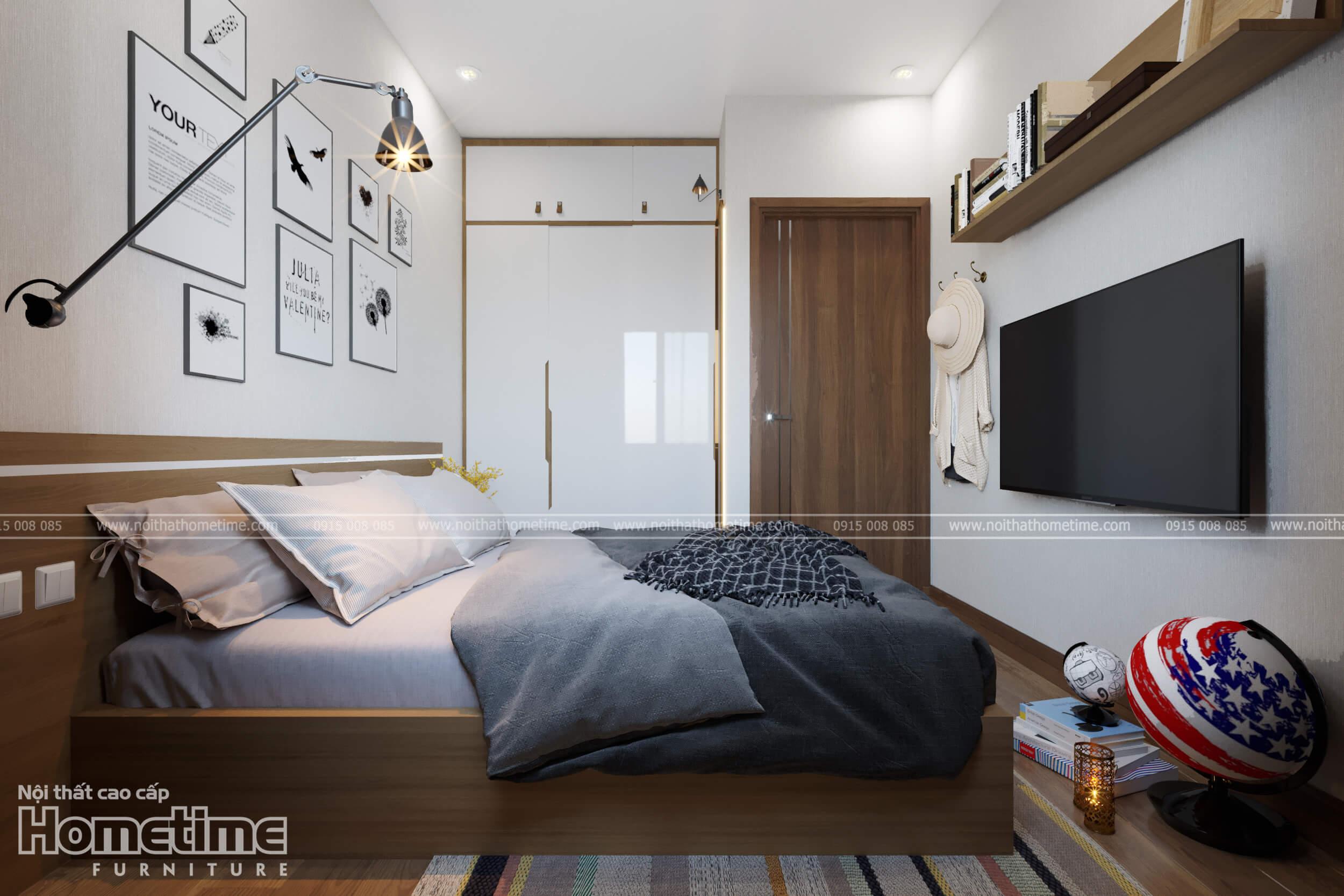 Thiết kế nội thất phòng ngủ trẻ em nhà anh Minh Water Front City Hải Phòng