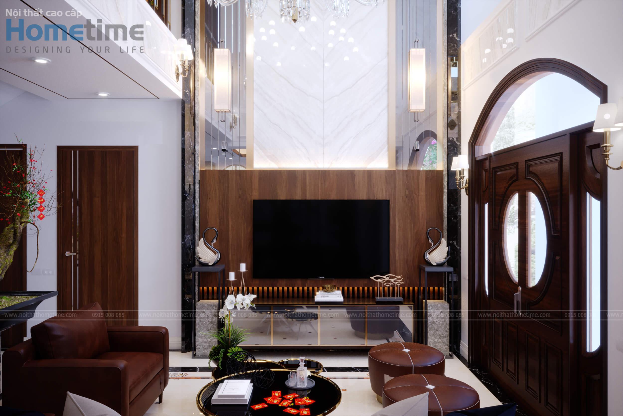 Vách trang trí nội thất phòng khách