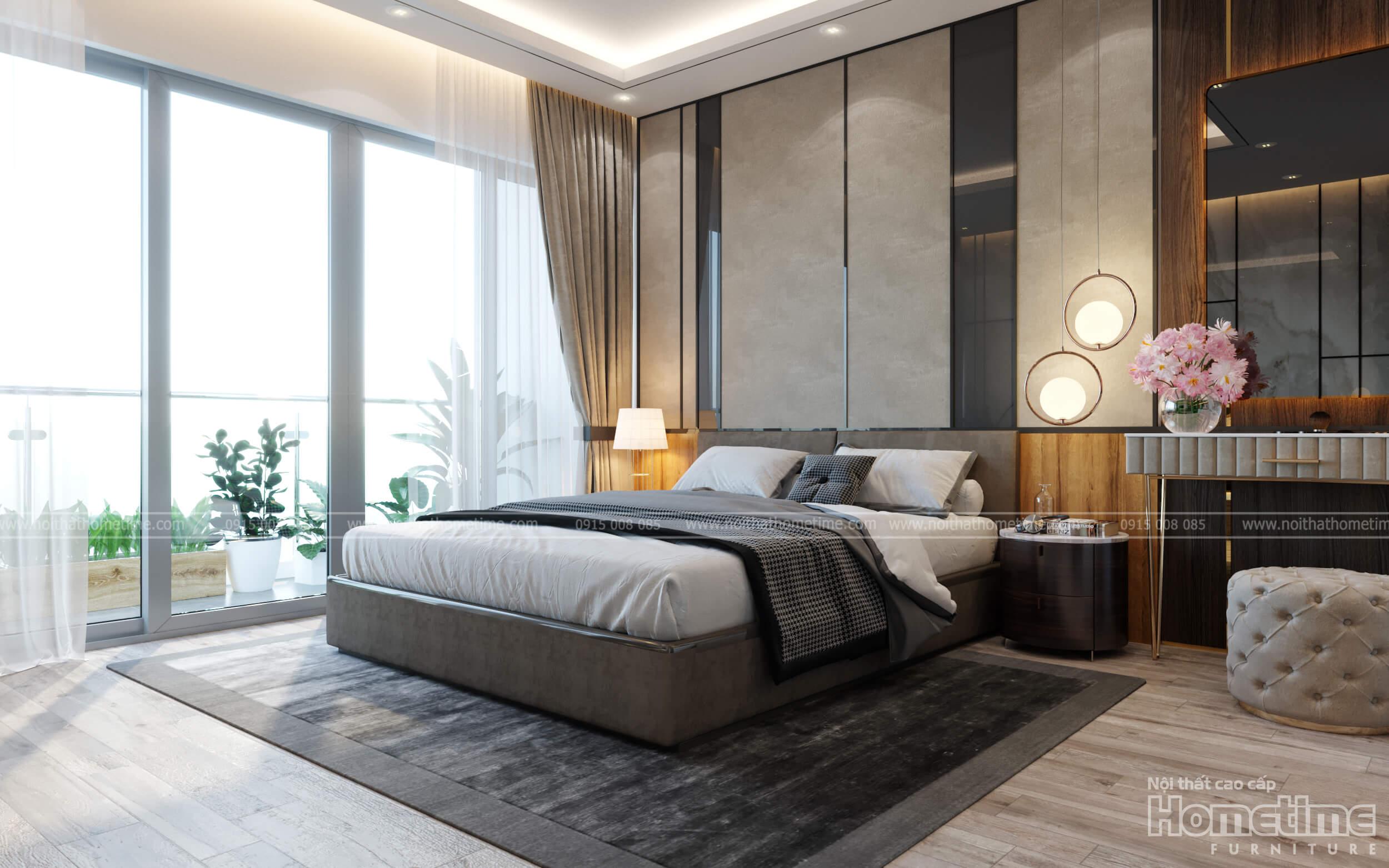 Phong cách thiết kế nội thất phòng ngủ sang trọng