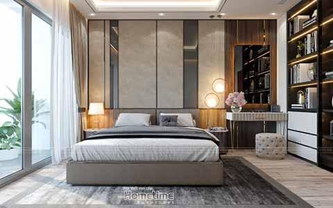 Thiết kế nội thất phòng ngủ Vinhomes Imperia Hải Phòng