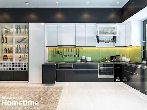 Tủ bếp nhựa phủ acrylic cao cấp nhà anh Hung avatar