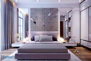 Thiết kế nội thất phòng ngủ biệt thự Vinhomes cao cấp