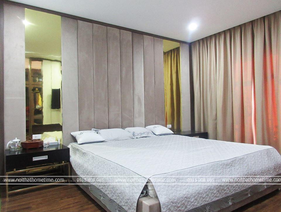 Không gian phòng ngủ master của gia đình
