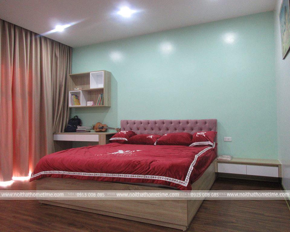 Phòng ngủ của con tại căn hộ chung cư khu Đằng Hải