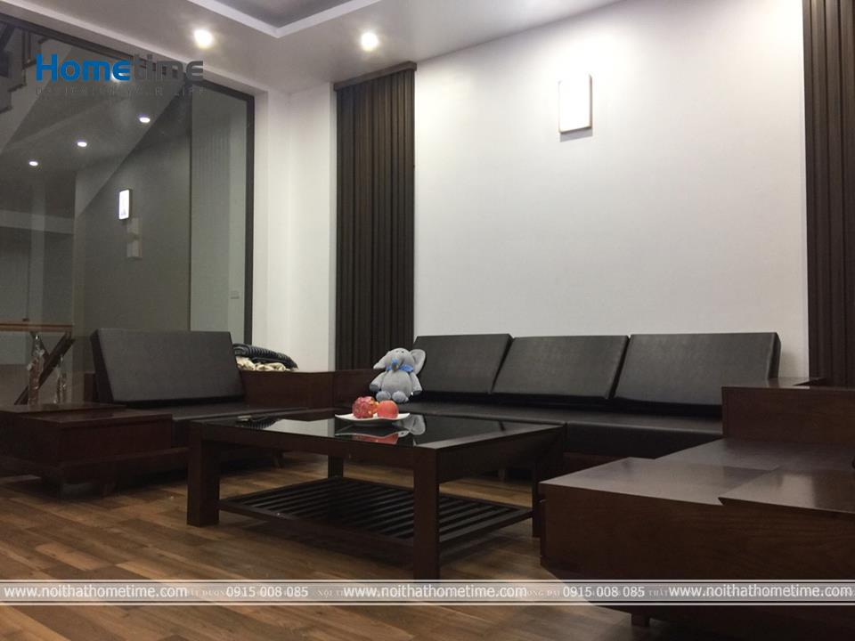 Hình ảnh Phòng khách căn hộ cao cấp tại Văn Cao