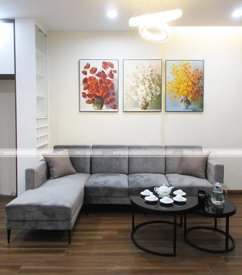 Bộ ghế sofa tủ rượu và bàn uống nước