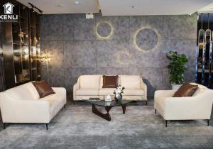 sofa da kenli e130 da thật