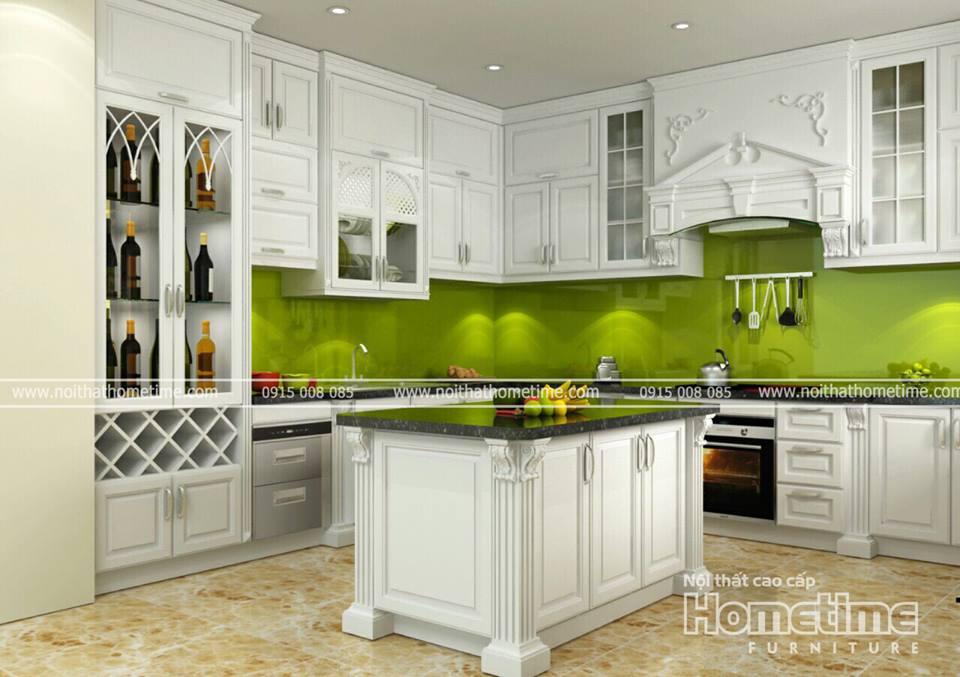 Tủ bếp nhà Anh Mạnh - Thái Bình