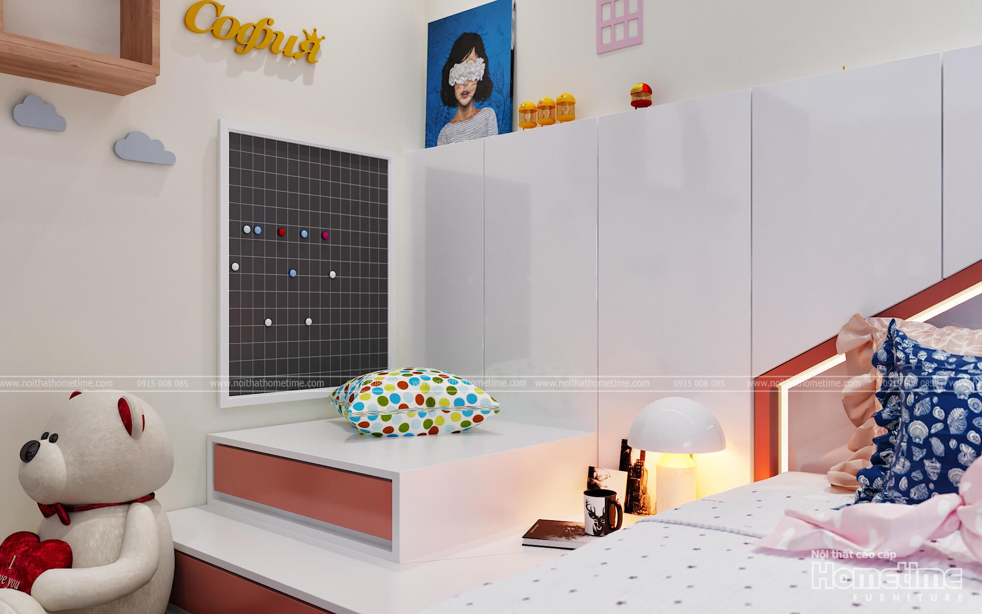 Chú gấu bông và những sản phẩm decor trang trí cho phòng ngủ