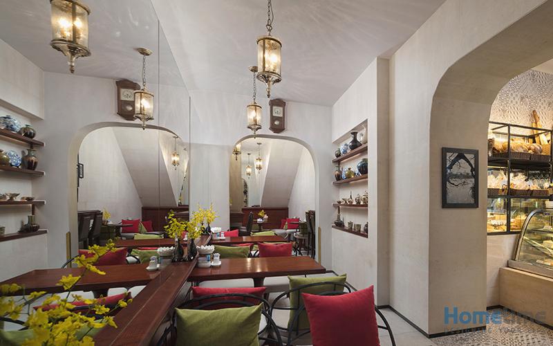 Một góc không gian nhà hàng khác