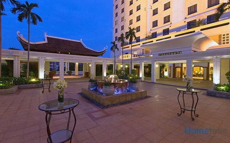 Không gian bên ngoài khách sạn 3 sao tại ĐỒ Sơn