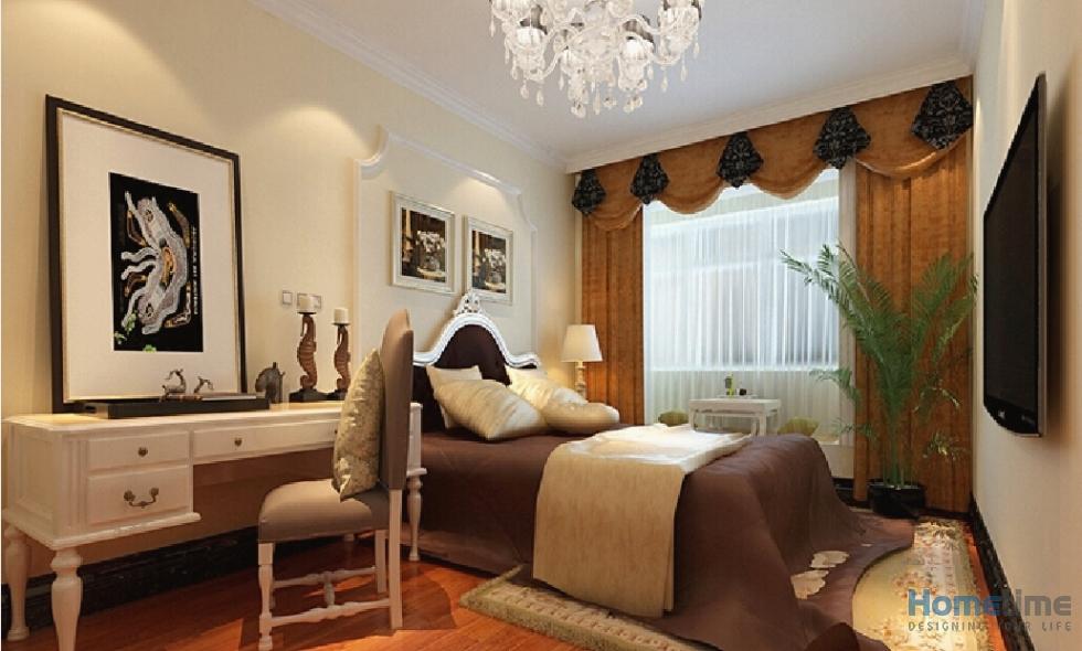 Một không gian nội thât phòng ngủ khách sạn cao cấp khác