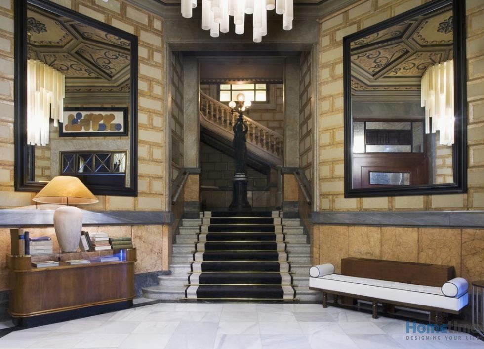 mẫu thiết kế nội thất khách sạn cổ điển
