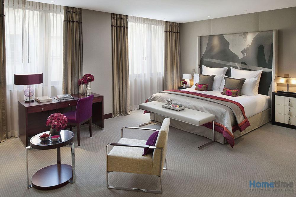 Nội thất phòng ngủ khách sạn đầy đủ tiện nghi