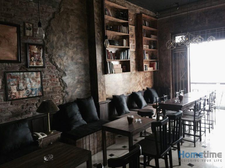 Thiết kế quán cafe theo kiểu retro