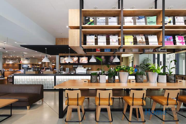 Phong cách thiết kế quán cafe kiểu Nhật