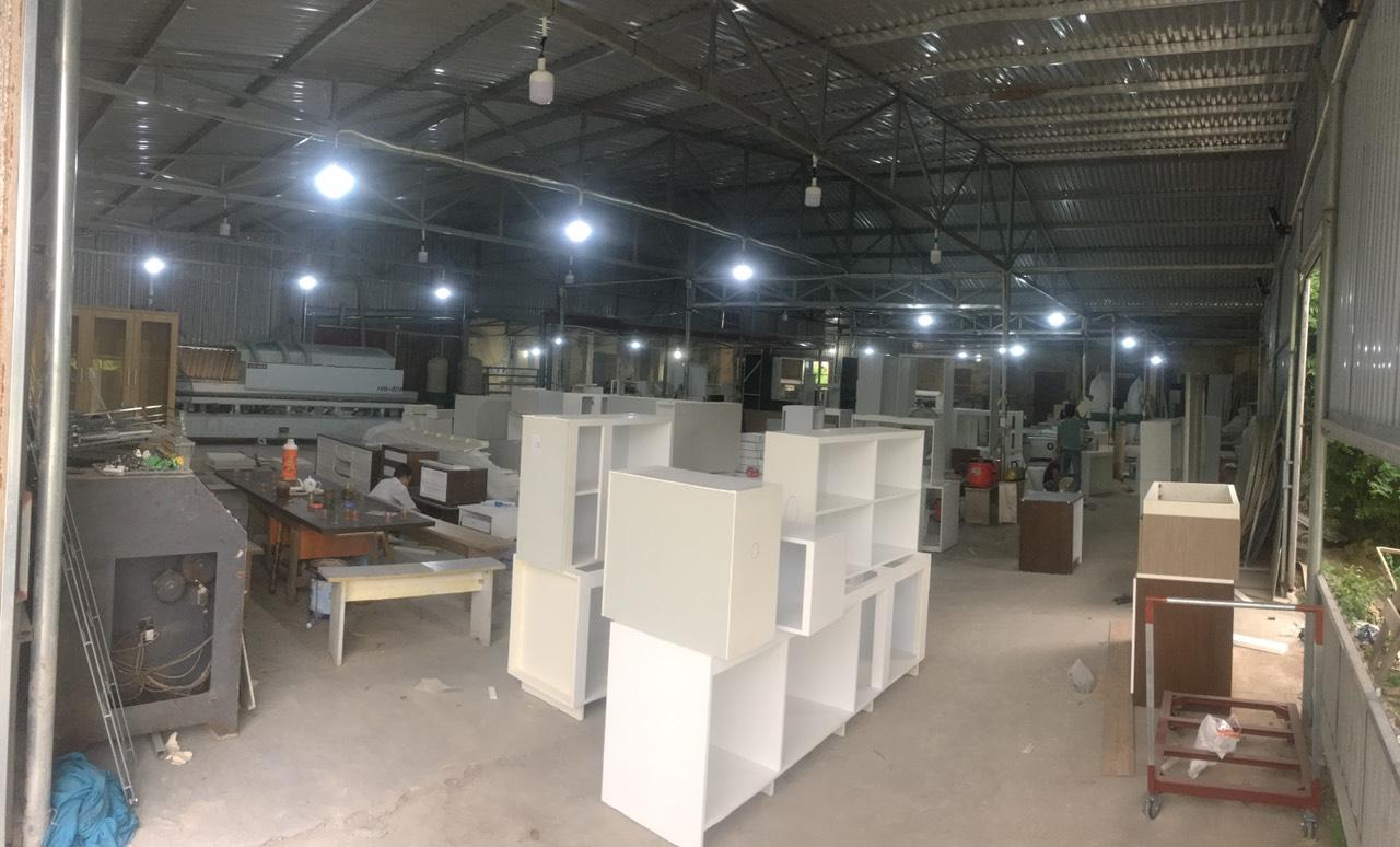 Quy trình sản xuất tủ bếp trọn gói