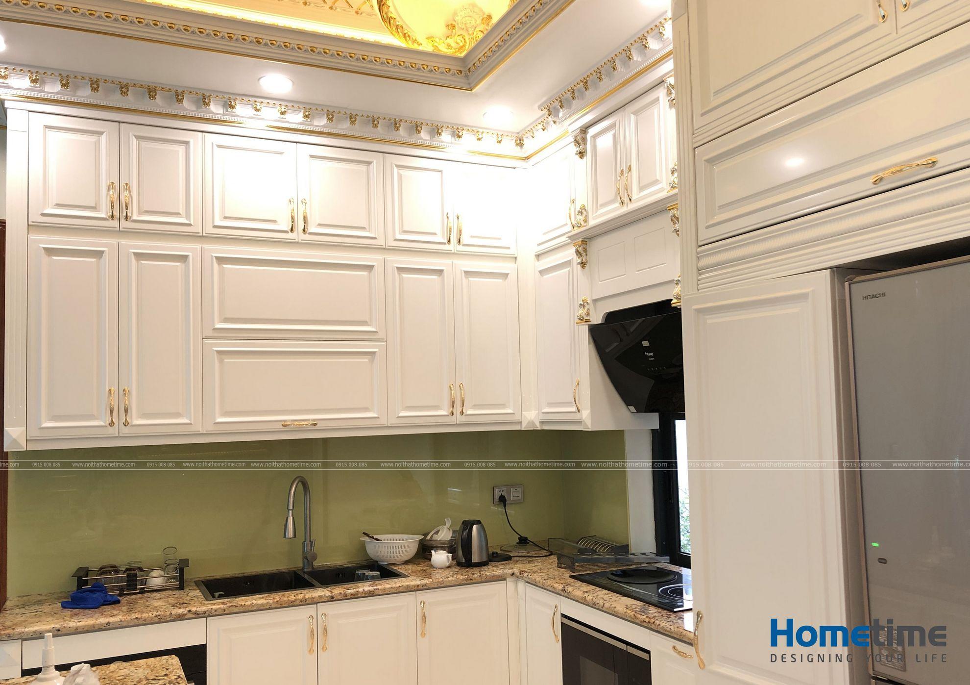 Một góc cảnh khác về không gian tủ bếp trên