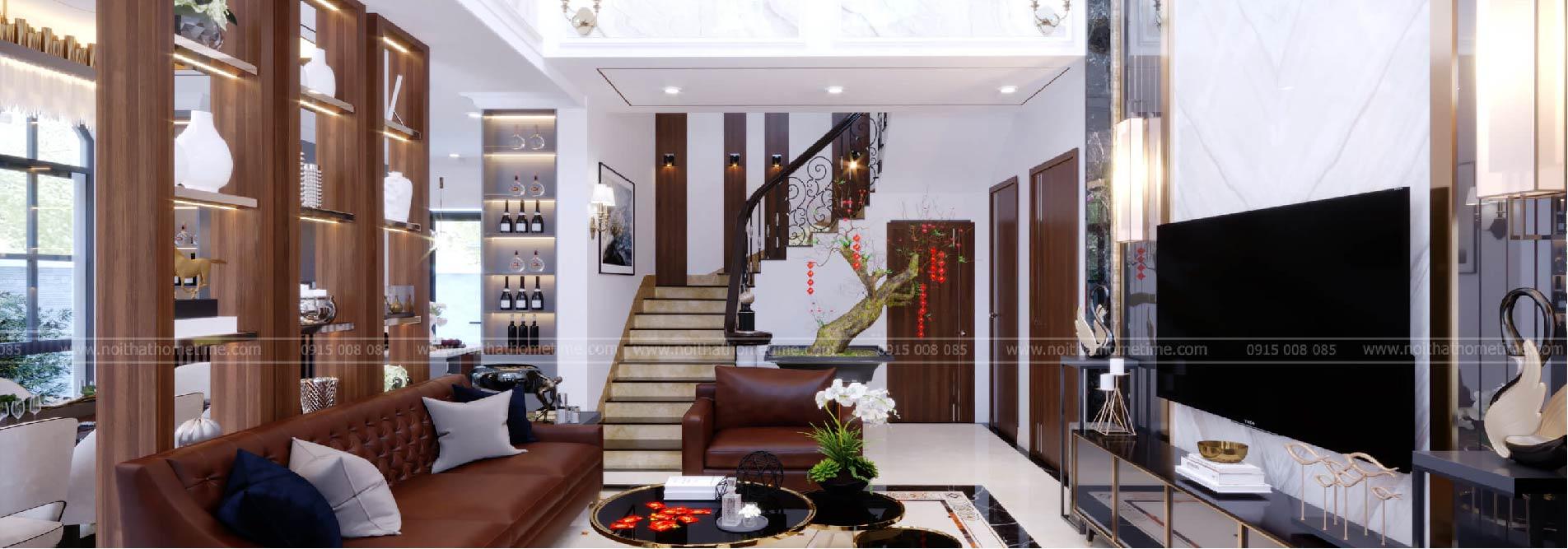 thiết kế nội thất nhà chú khanh hải phòng